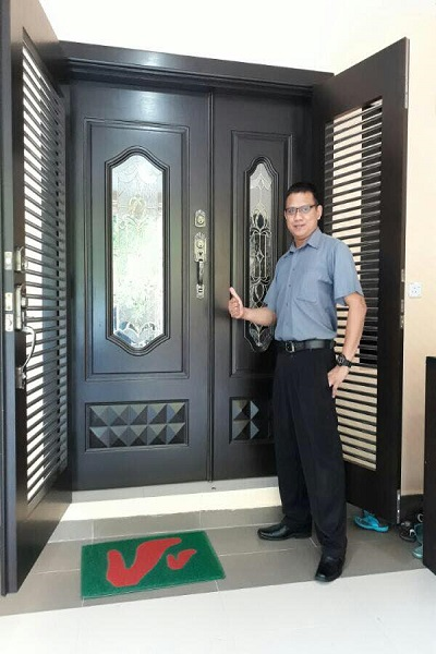 Solid Wooden Door, Wooden Door, Door Supplier in Johor Bahru